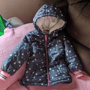 Oshkosh Winter Coat Stars 4T